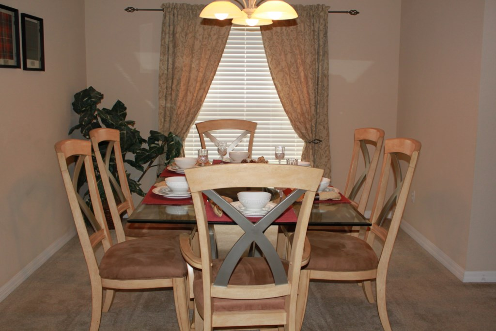 Spacious formal Dining to entertain