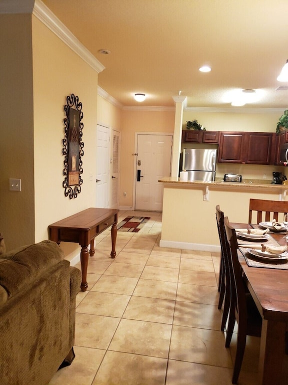 GREAT OPEN FLOOR PLAN WITH TILES THROUGHOUT
