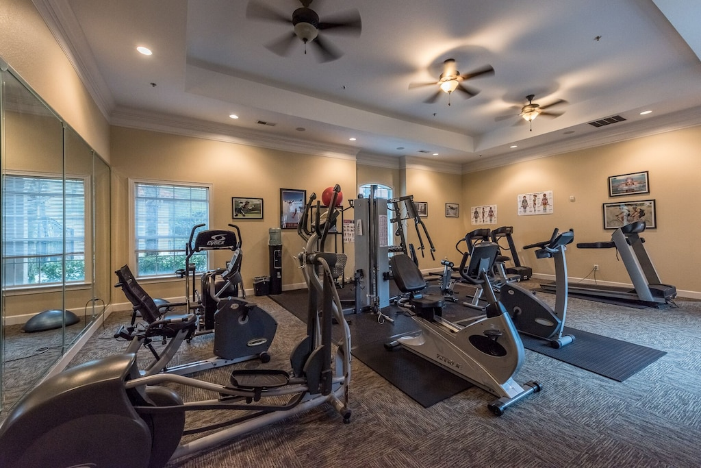 Fitness center NOW OPEN TO OUR GUESTS