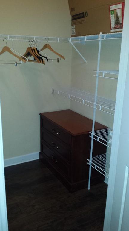 Walk-in closet for bedroom #1