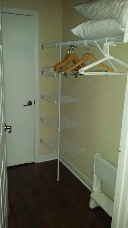 Walk in closet for bedroom #2