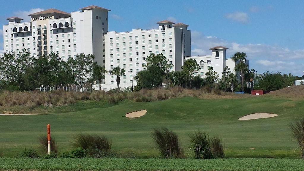 Omni resort with golf 1 mile away
