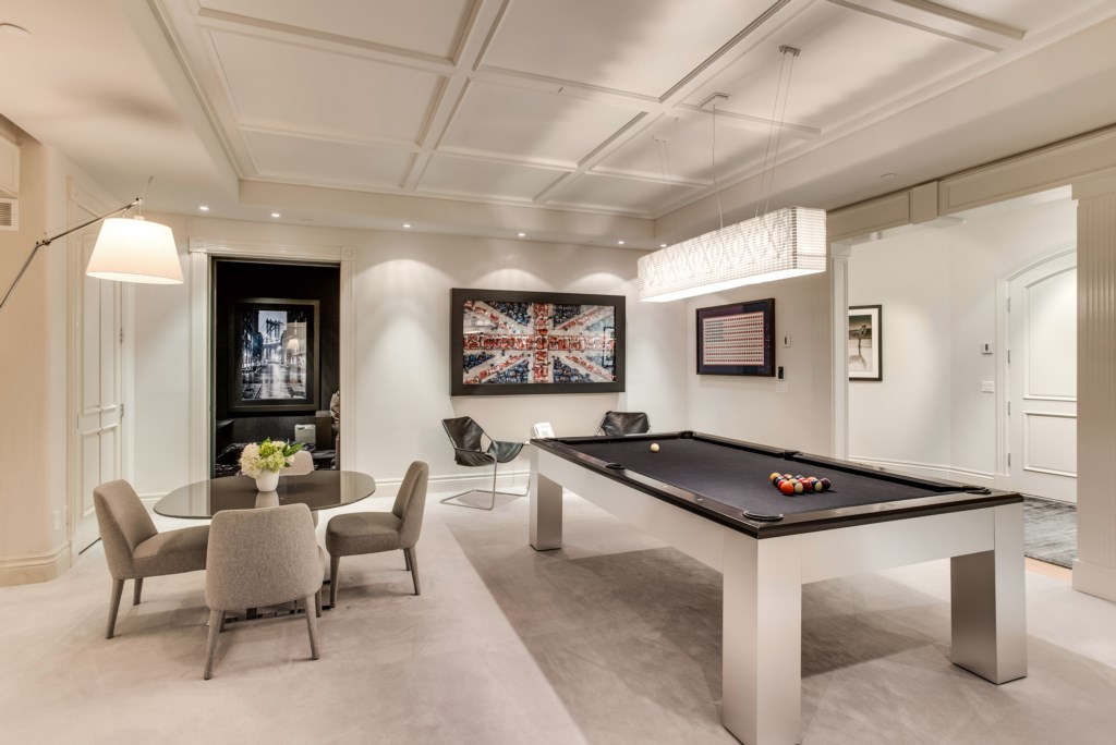 Pool Table and Game Table