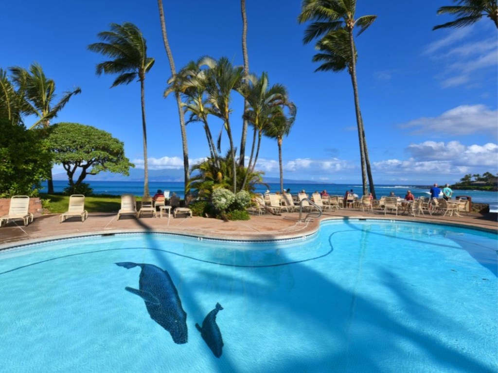Pool at Napili Shores
