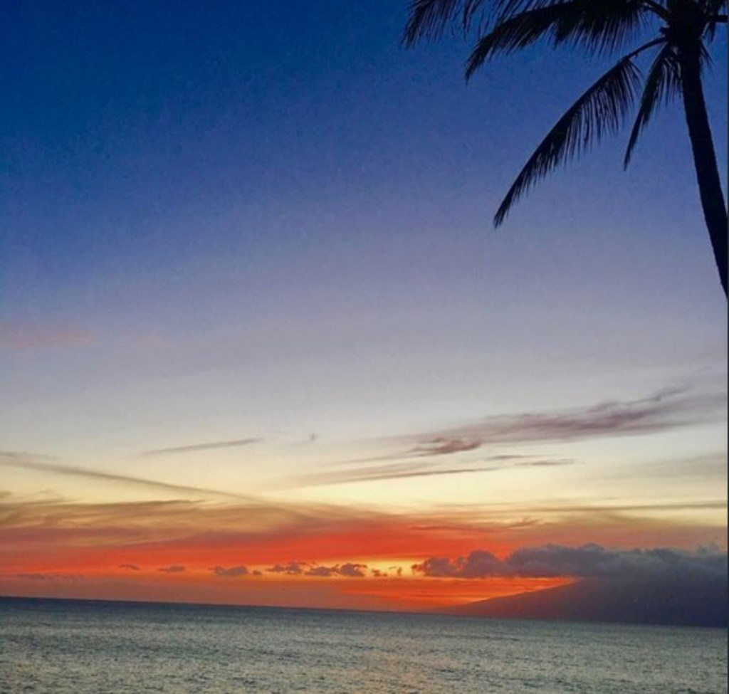 Enjoy the magnificant sunsets and sunrises.