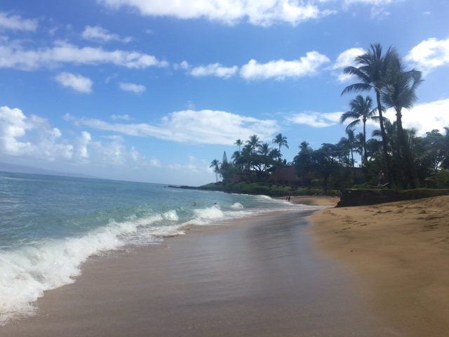 Dip your toes in the sand and enjoy the amazing Kuleana Beach