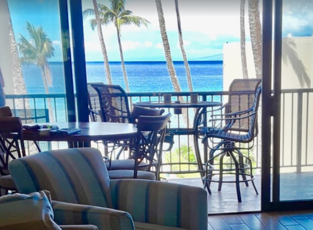 It's all about the view, and what a place to enjoy it from your own private lanai.