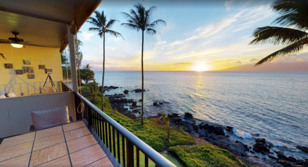 Breathtaking views from your lanai.