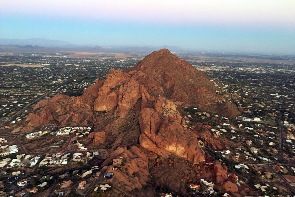 World Class hiking on Camelback Mountain