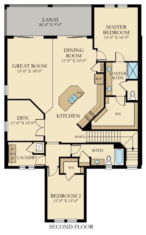 Avanti Floor Plan
