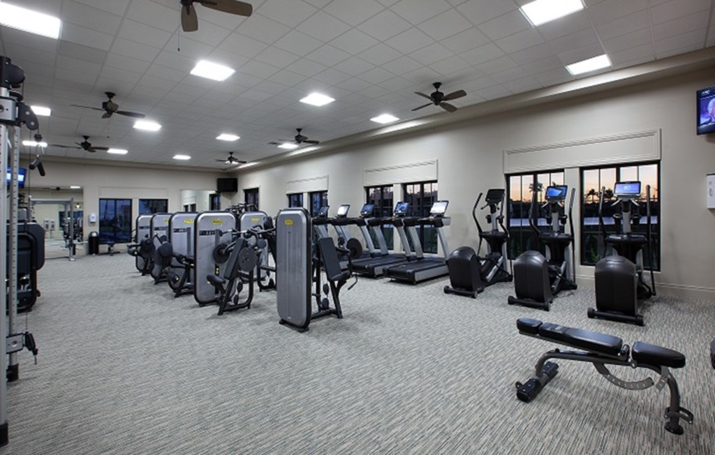 Take advantage of the large fitness centre when not exploring all that Fort Myers offers
