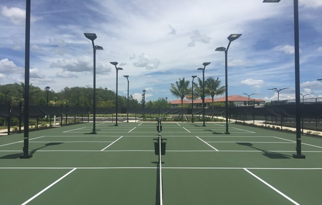 Tennis courts are available for your use