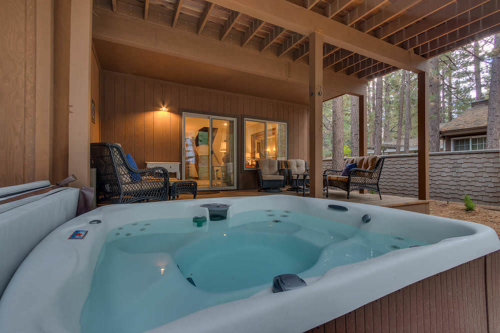 Retire for the evening enjoying your hot tub and spacious deck