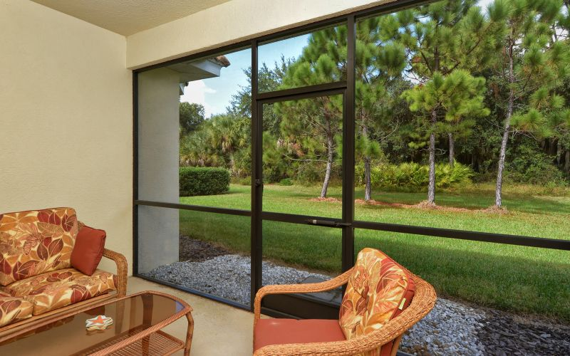 Screened-In Lanai