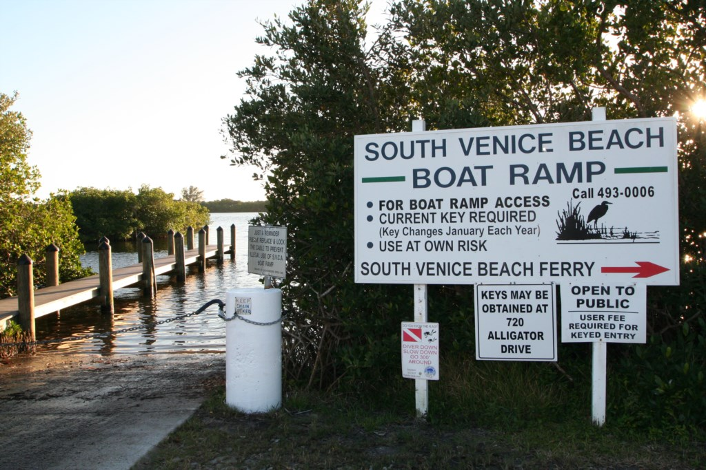 South Venice Boat Ramp and Ferry