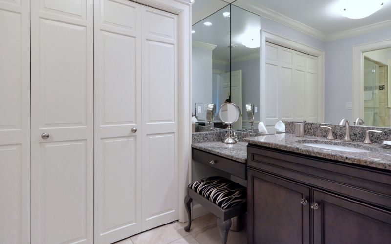 Powder Room with Closet