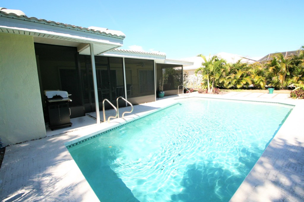Pool and Screened-in Pool Deck