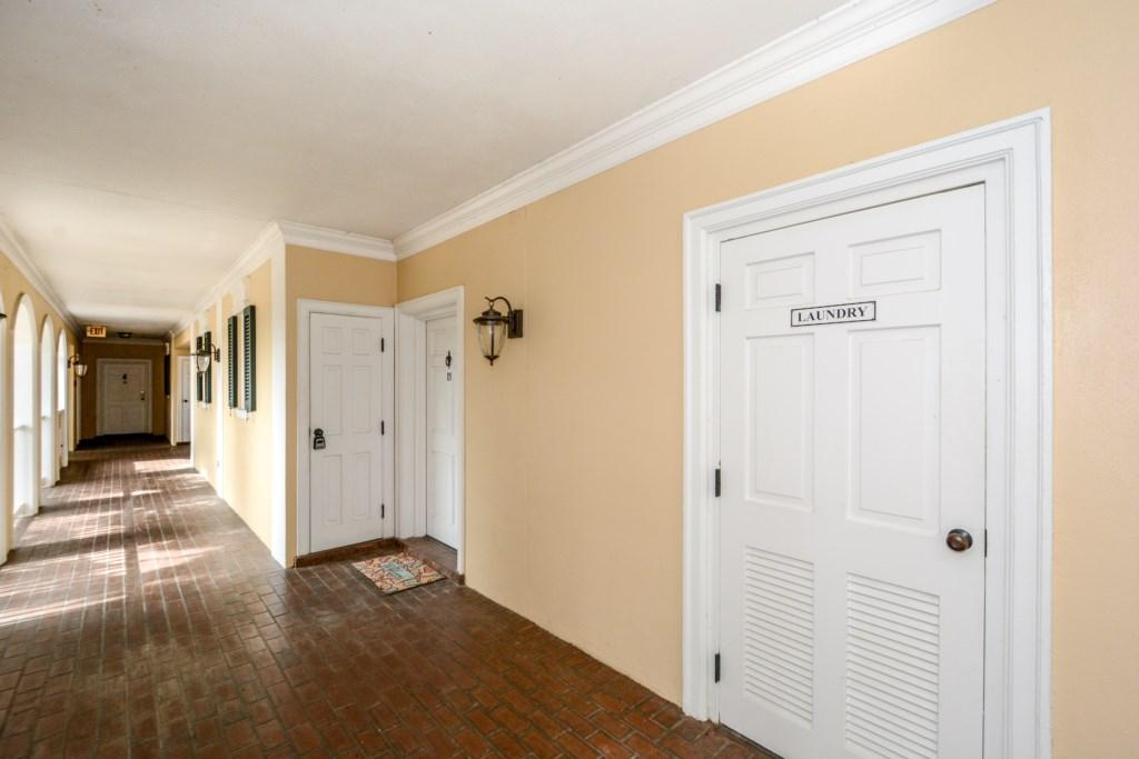 Door to Condo 18
