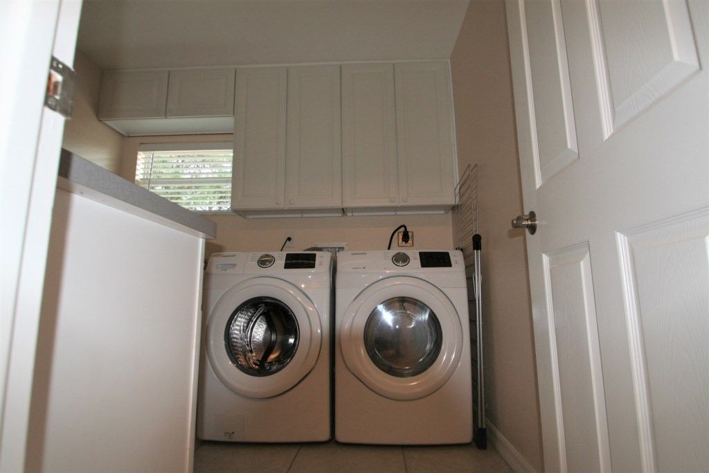 Washer and Dryer in separate laundry room
