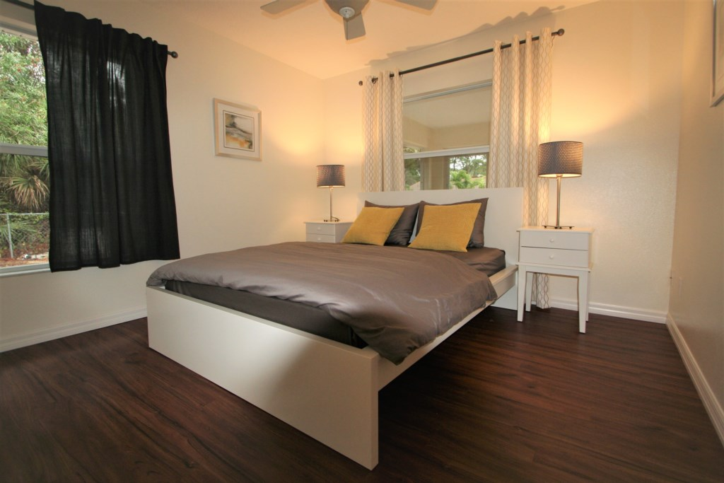 2. Bedroom with queen bed