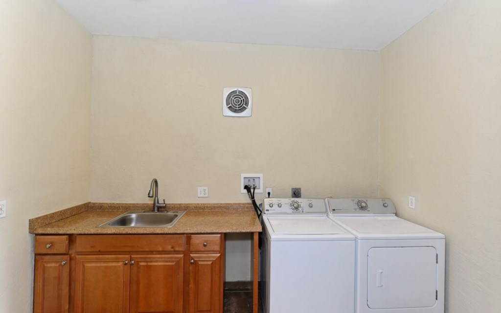 Separate Laundry Room on 2nd Floor