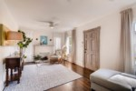 Periwinkle Entry / Living Room