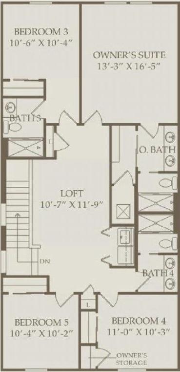 Pulte Castaway 2nd Floor