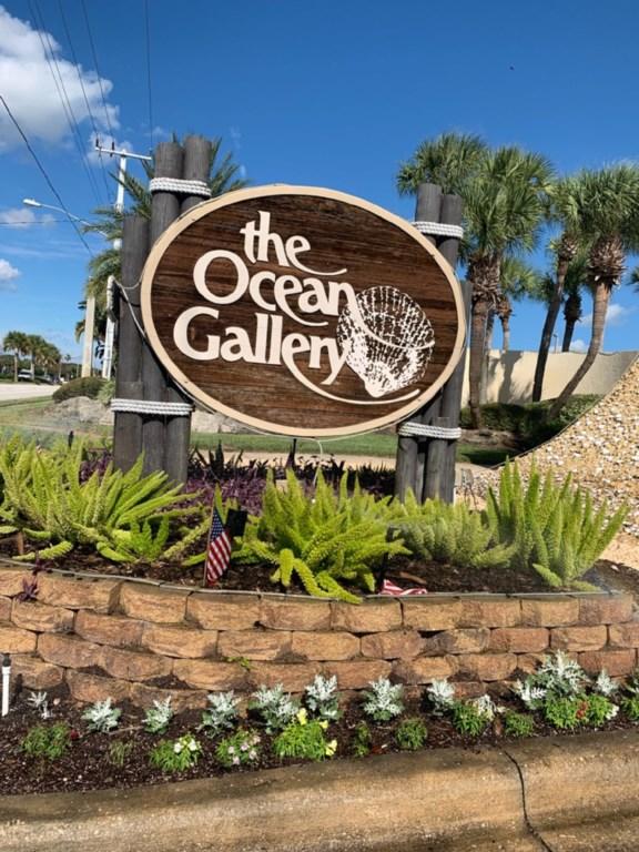 Ocean Gallery Sign