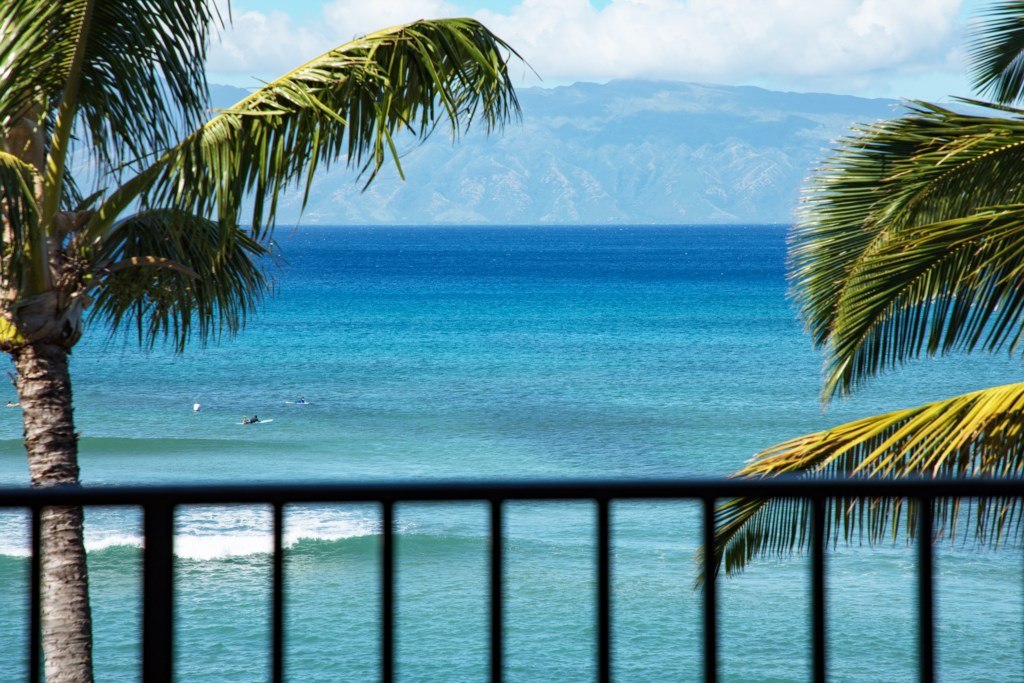 Take in the Ocean breeze from your Lanai.