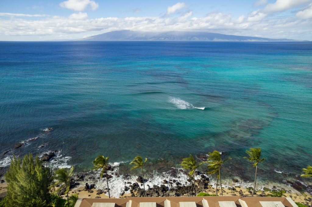 A truly breathtaking view from Noelani Resort overlooking the Pacific Ocean.