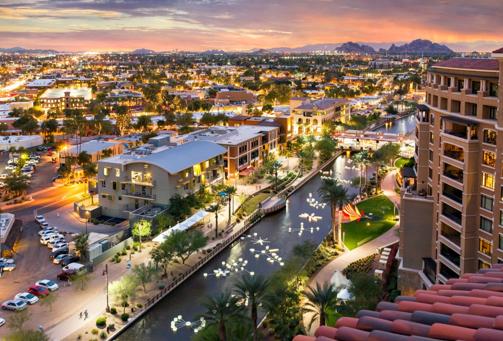Downtown Old Town in Scottsdale - minutes away