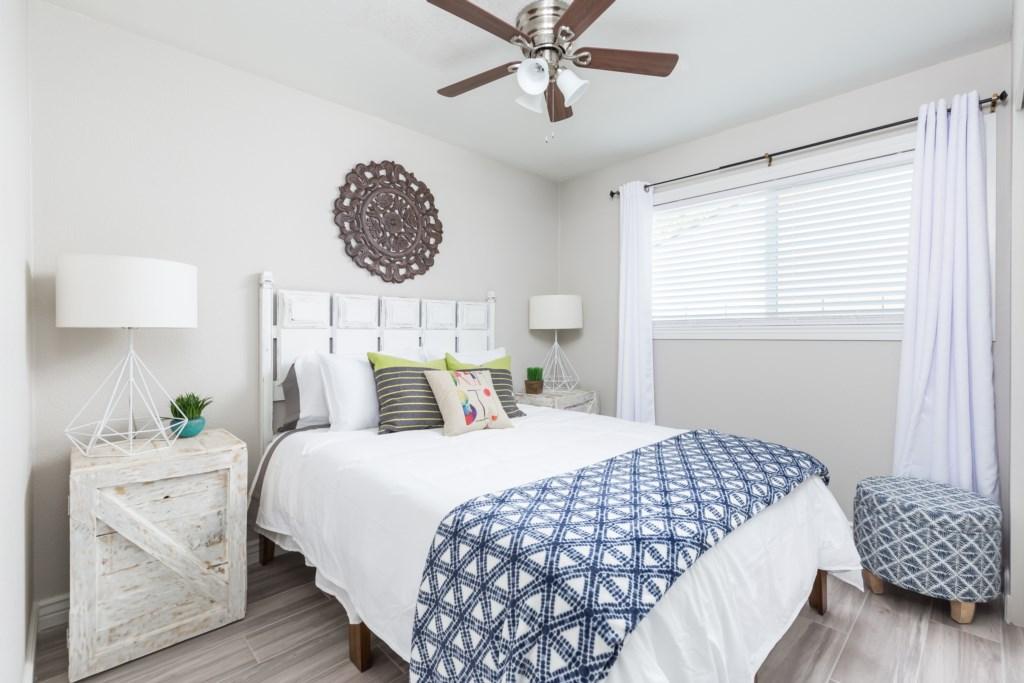 3rd Bedroom with 1 Queen Bed