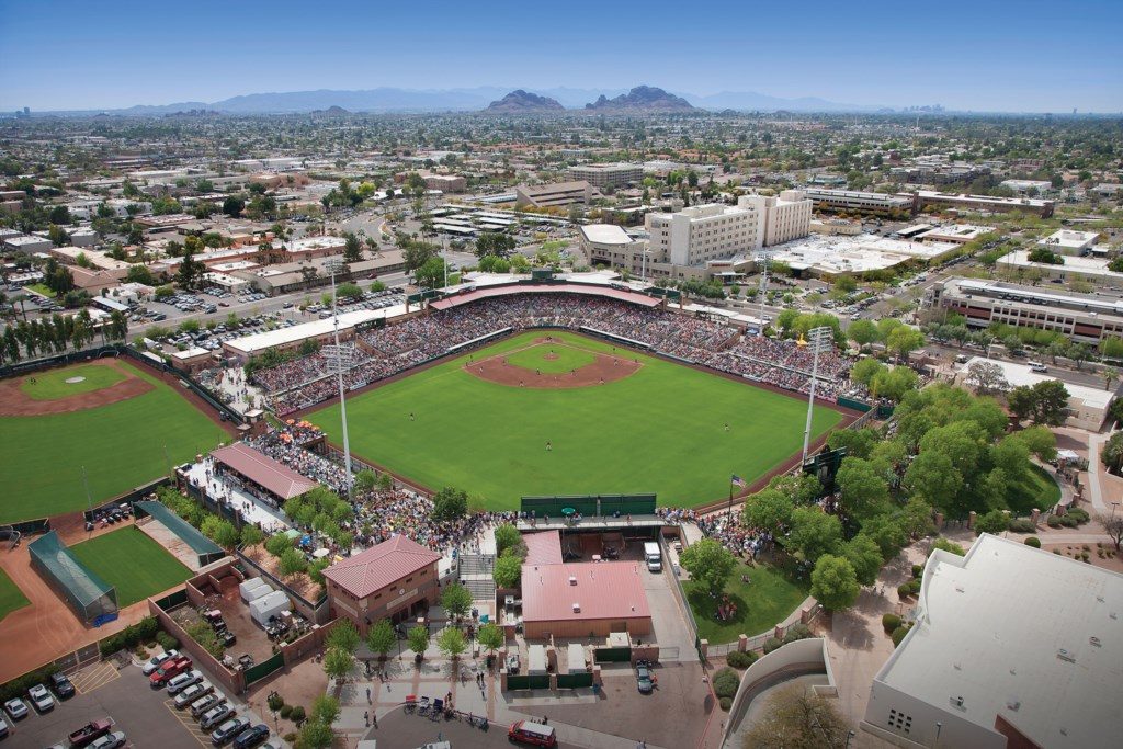 Giants Stadium and spring training - minutes away