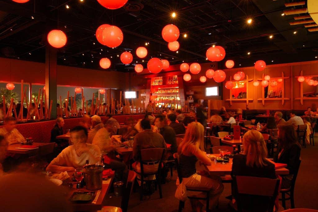 Hundreds of restaurants - minutes away