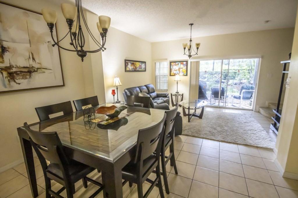 Jasmine - Dining Room & Living Room