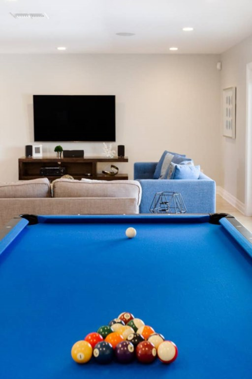 Pool table for entertainment available!