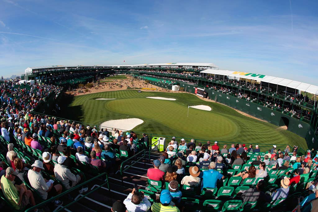 Phoenix Open and TPC - 14 minutes away