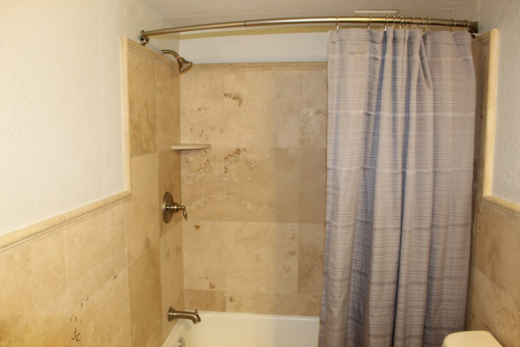 Stone Shower and Bath