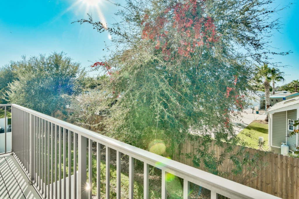 Enjoy the lush scenery from your Balcony