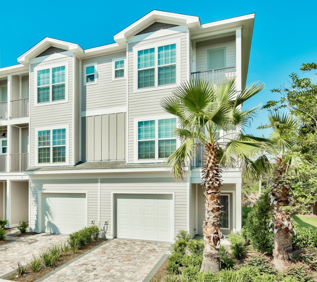 Luxury 4 Bedroom 4 Bath Townhome on one of most secluded Beach Streets