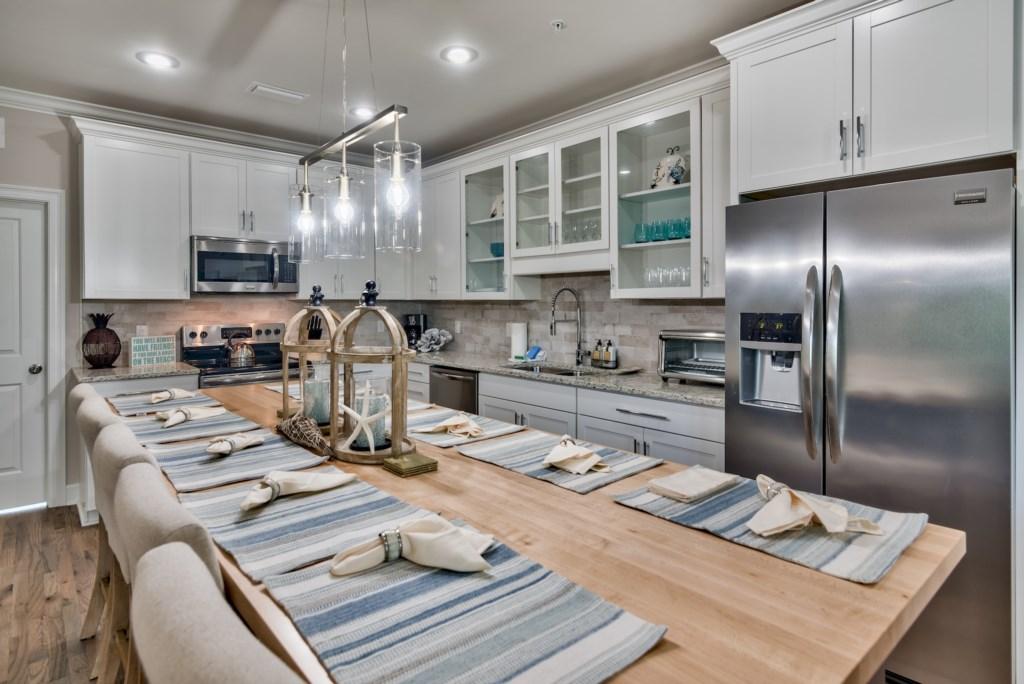 2nd Floor Kitchen and Open Living Room