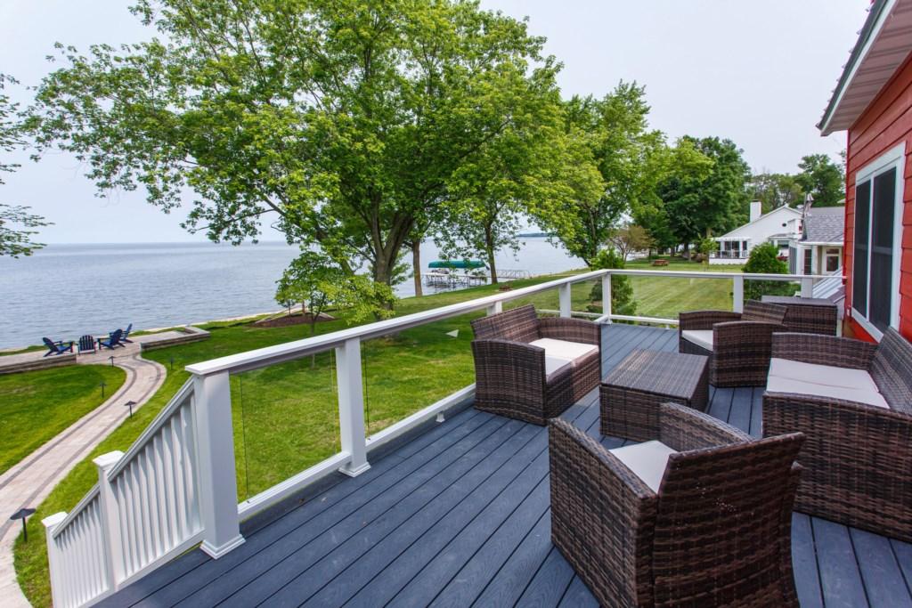 Gorgeous deck views
