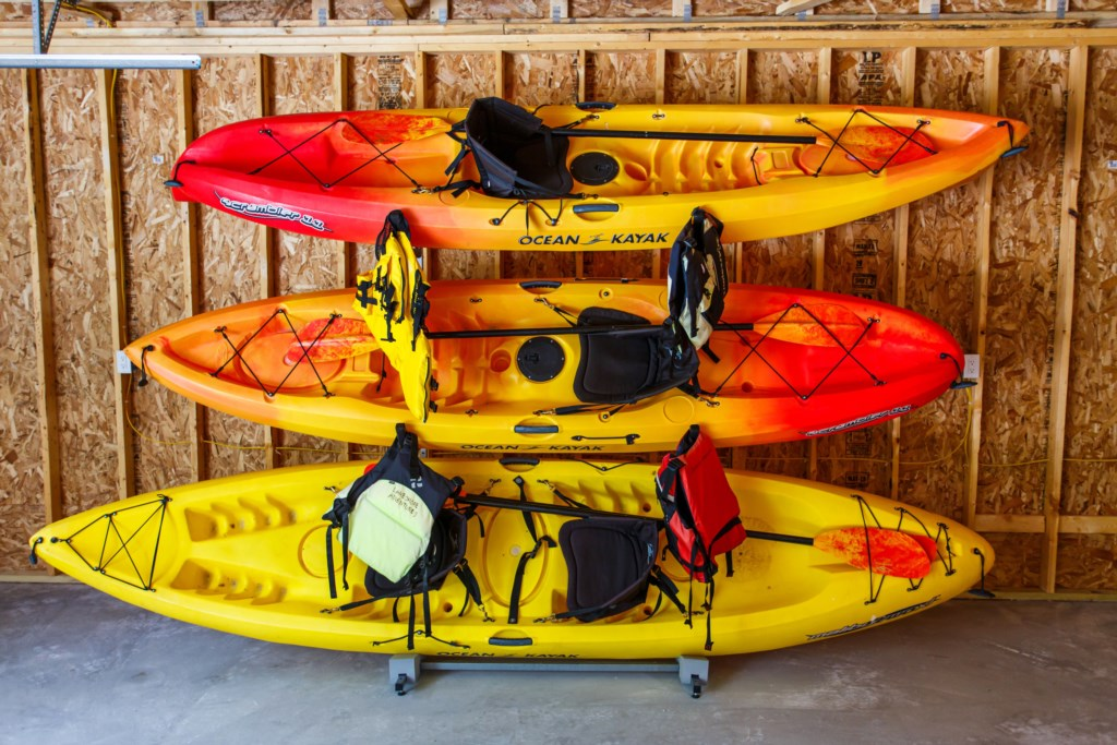Kayaks available