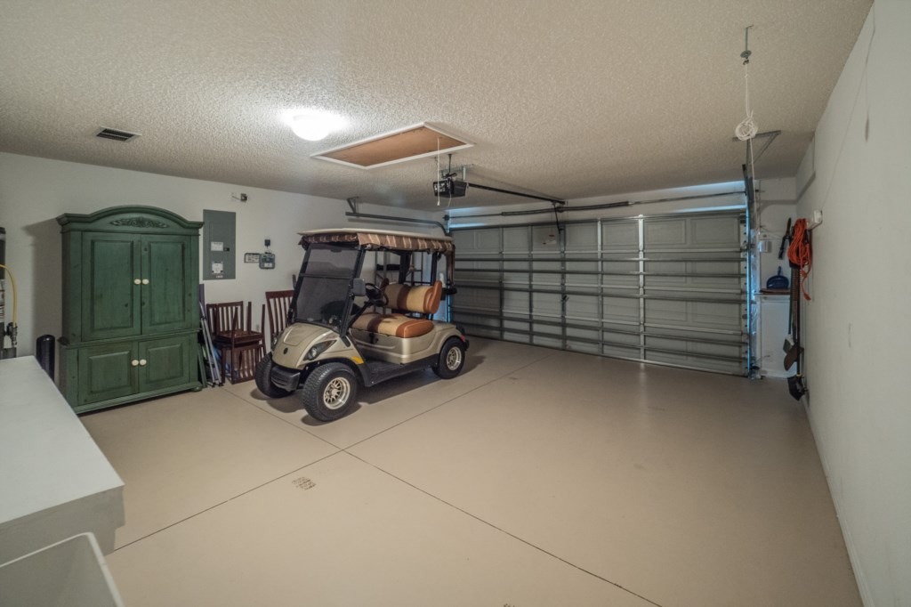 Complimentary golf cart for during your stay!