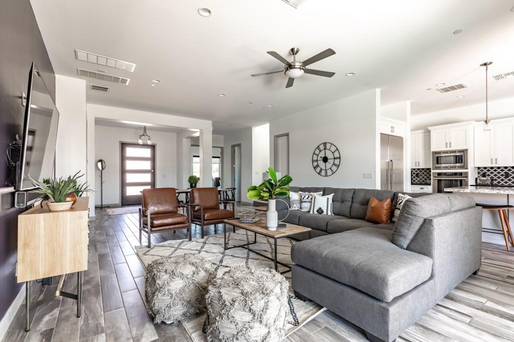Beautiful open living room