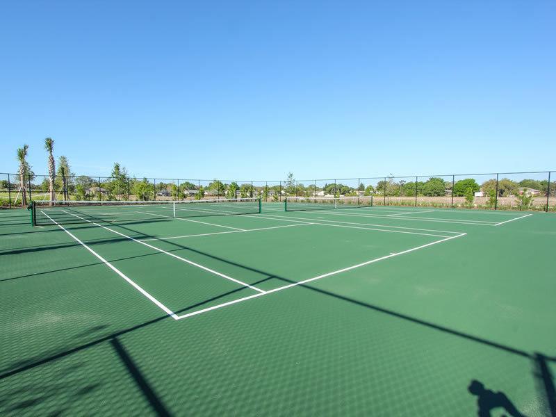 Tennis / Basket Ball Courts