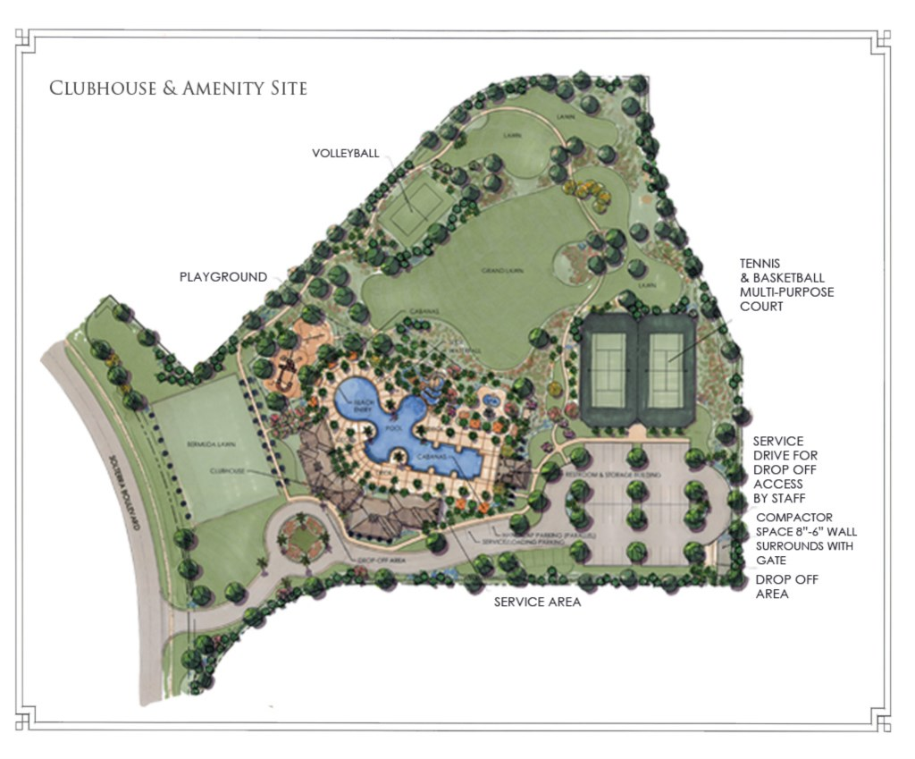 Solterra Clubhouse Map (may be updated)