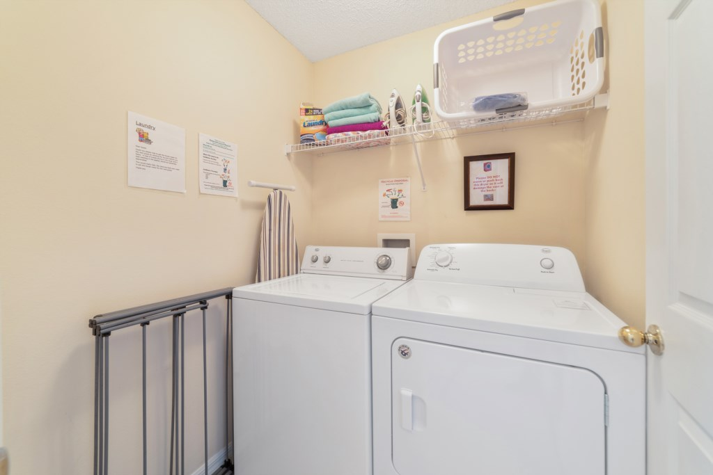 Laundry - Washer / Dryer
