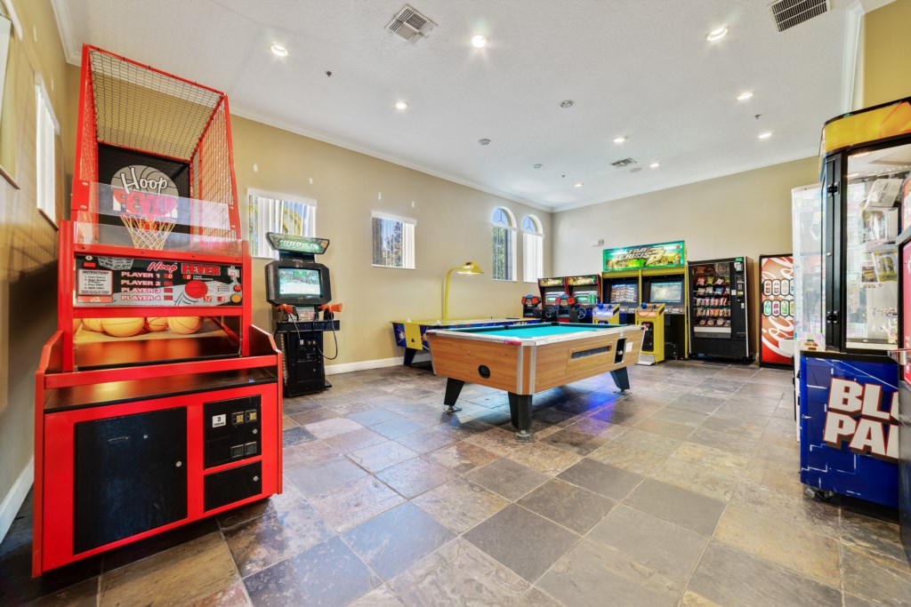 Clubhouse Arcade