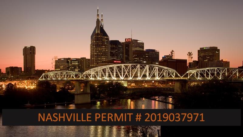 Nashville Permit # 2019037971